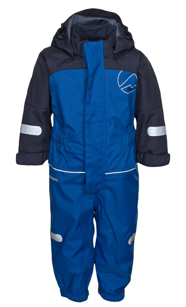 Kullen padded overall is warm, waterproof and windproof.