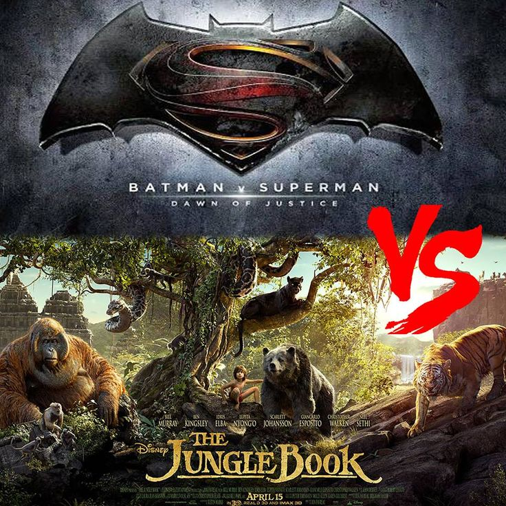 Batman vs Superman Vs The Jungle Book Box Office Collection Total Worldwide Earning  Batman vs. Superman Vs. The Jungle Book Box office collection Total Worldwide Earning:-Well, most awaited movie Batman vs. Superman did huge and awesome business in India as well as in other countries this movie has good buzz and that's the reason ... http://rock.ly/ha5jx