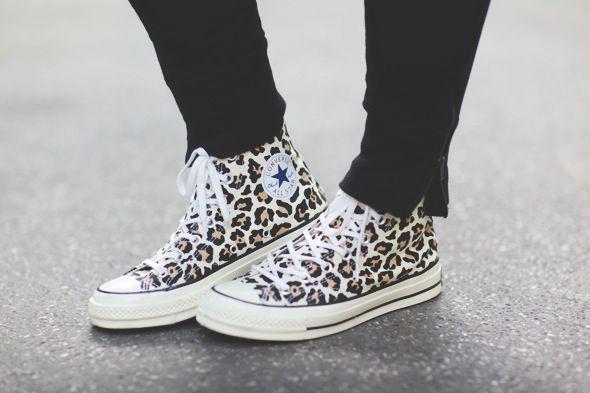 Sneakers femme - Converse Chuck '70 Cheetah (©tokyobanhbao)