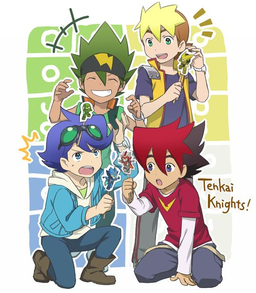 tenkai knights season 2 - Google Search