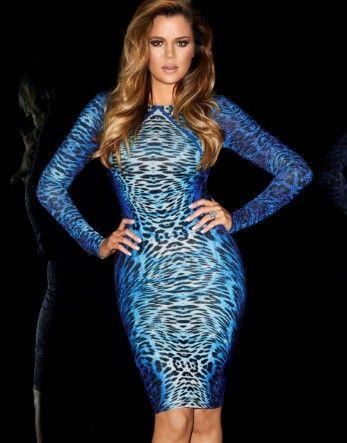 Kardashian Animal Print Bodycon Dress...I'm feeling this dress for a new years wedding