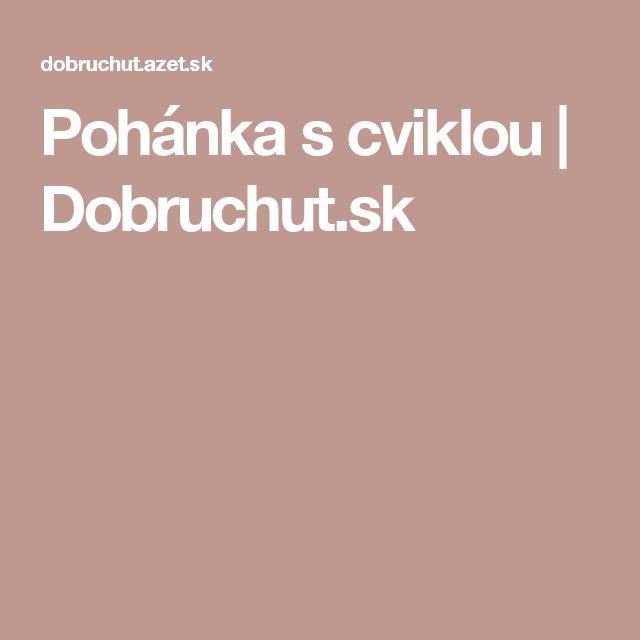 Pohánka s cviklou | Dobruchut.sk