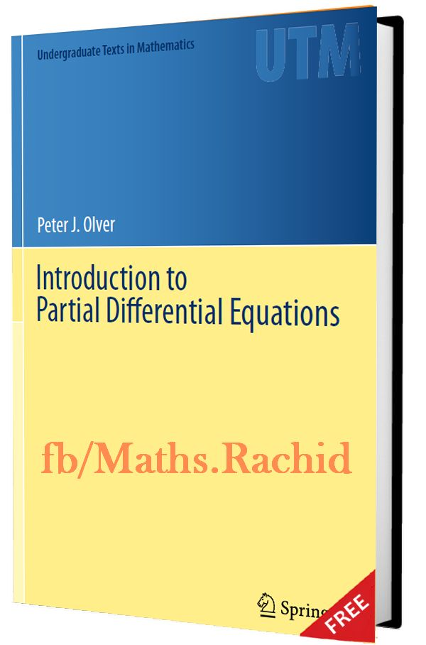 Book | Introduction to Partial Differential Equations - maths monde