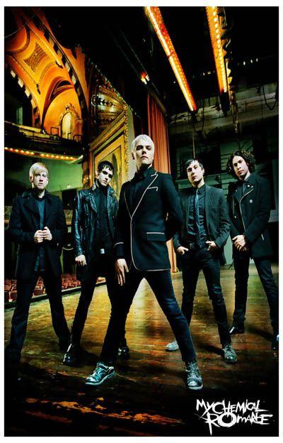 My Chemical Romance Fabulous Killjoys Music Poster 11x17