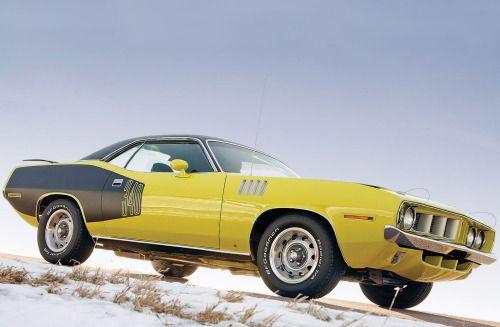 """motoriginal: """"1971 Plymouth Barracuda """""""