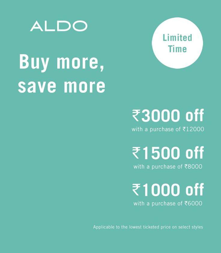 ALDO Shoes - India   #Aldo #Forum #Courtyard #Kolkata #1stFloor  #Buy #More #Save #More   ☎ 03340235015   aldo.forum@majorbrands.in — getting my groove on at Forum Courtyard.