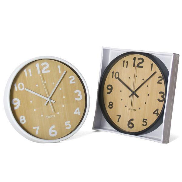 relojes de casa blanco o negro con estilo clasico de toda la vida a un precio barato en www.catayhome.es