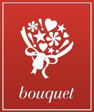 """#bouquet879□■ bouquet ロゴに込めた想い □■     花束に見えるロゴ、ちょっと変わっている点、皆さんお気づきですか??     そう、ラッピングの中に『感嘆符』が入っているのです【★♥*!】 感嘆符が『花』の象徴なんです!     なぜ!?……     花ってそのままだとモノなんだけど、花束にして誰かへ渡すとき、 花は人の""""想い""""に変化していきますよね。     【花】=【想い】=【感嘆符】     そんな発想から、このブランドロゴをつくりました。     そう、ただブーケをデザインするのではなく、 「花に込められる皆さんの『想い』も、ちゃんと受け取ってブーケに束ねてお届けしたい!」という願いも込めています。"""