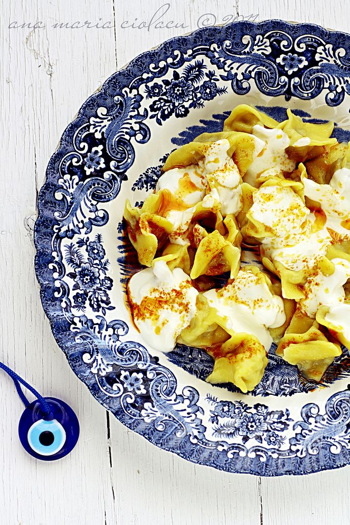 Turkish dumplings - so easy to make at home and so incredible delicious...