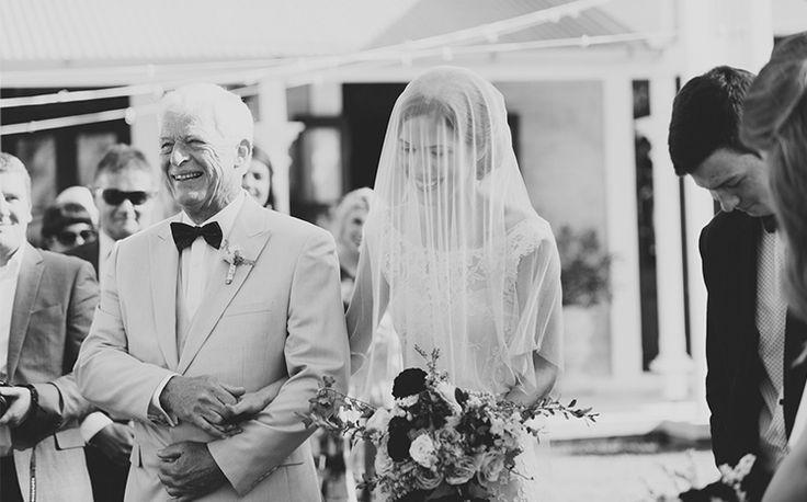 Here comes the stunning bride. Tweed Hinterland Wedding - Benjamin Carlyle Celebrant - Nat McComas. Tweed Wedding Celebrant. Byron Bay Wedding Celebrant