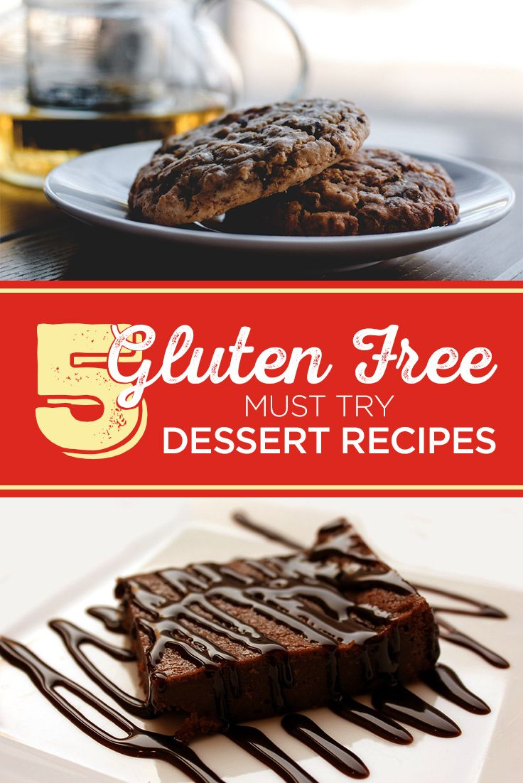 Looking for a little dessert inspiration? Here are 5 delicious gluten free desserts that are sure to please everyone, gluten free or not. Get the Recipes Here!