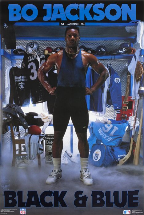 Bo.Oakland Raiders, Jackson Posters, Picture-Black Posters, Football Players, Sports Posters, Growing Up, Bo Jackson, Bojackson, Athletic