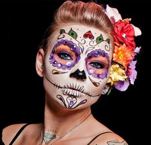 Αποκριάτικο Μακιγιάζ: Sugar Skull / Sugar Skulls