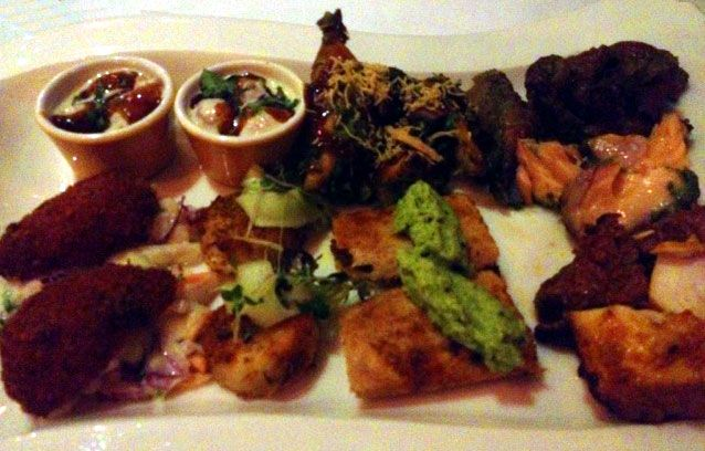 Cafe Spice Namaste Indian restaurant London http://www.mostlyasianfood.com