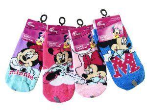 Pusat Shop Sepatu - Disney Minnie Mouse 3pc Gadis Ankle Socks (Ukuran Sepatu 10,5-4) - Minnie Socks | Pusat Sepatu Bayi Terbesar dan Terlengkap Se indonesia
