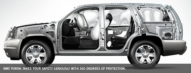 2014 #GMC #Yukon SUV Offers 360 Degree Protection for Safety http://www.chevyoftulsa.com/inventory_search.php?=N=GMC=SUV