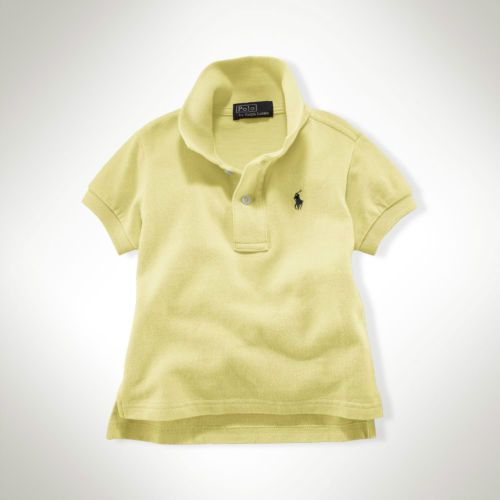 Toddler Ralph Lauren Yellow Polo Shirt - Sz 2T - Now Selling! Click through to go to eBay Auction