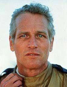 Cap and his piercing eyes. (RIP Paul Newman. RIP.)