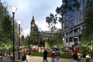 Christmas in Australia... official Launch of the Melbourne Christmas Festival 2012 is TODAY!