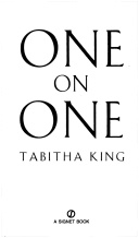 One on One by Tabitha King. It's a crime that this wonderful book is out of print.