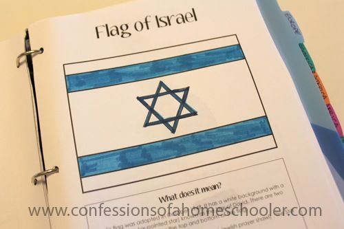 """Israel: Where Israel is on the map, the Mediterranean Sea, the Dead Sea, and the capital, A song in Hebrew, How to say """"Hello"""" in Hebrew, How to pray for the Jewish people, About children in Israel, animals of Israel, make a stone inlay craft, learned about the Dome of the Rock, Learn about the 7th Wonder of the World: Petra in Jordan, try Middle Eastern restaurant or make your own falafels"""