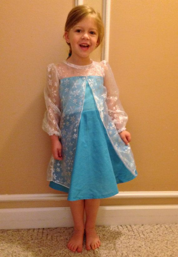 Elsa Frozen everyday princess PDF Pattern by madeformermaids