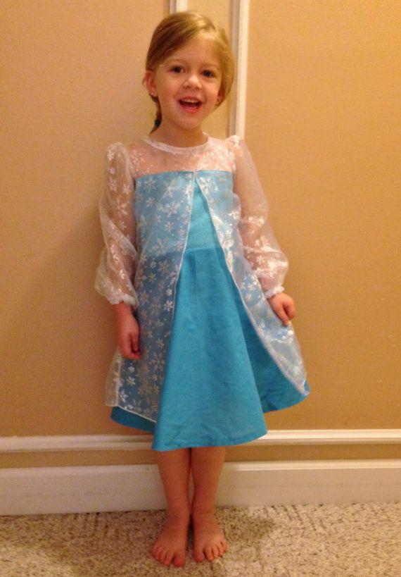 Elsa Frozen everyday princess PDF Pattern by madeformermaids