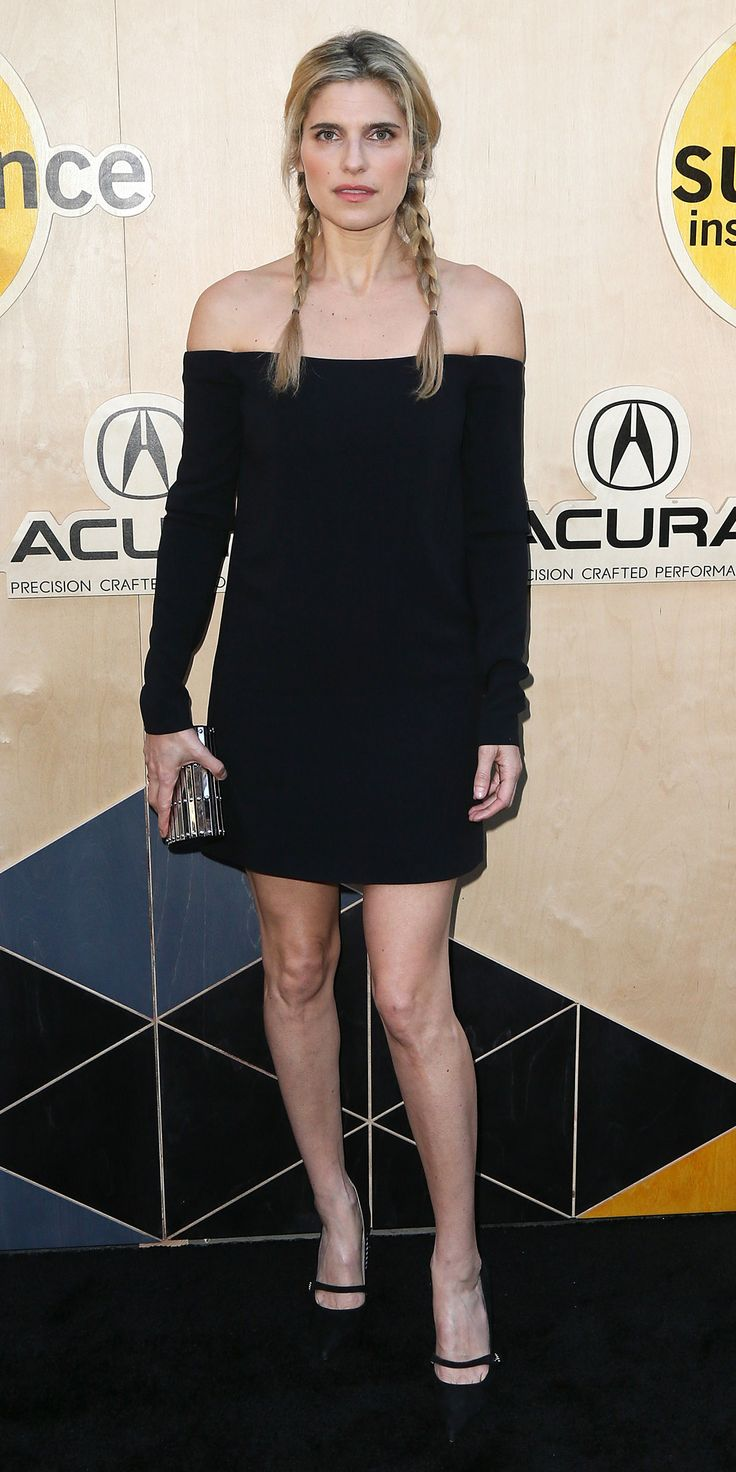 For Sundance's Night Before Next event, Lake Bell turned to one of the most effective articles of clothing to give her look a next-level boost—a timeless little black dress, which she styled with a metallic clutch and darling Mary Janes.