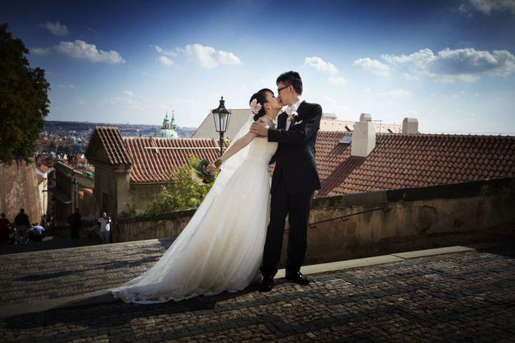 Prague wedding photography - George Hlobil wedding photographer Prague