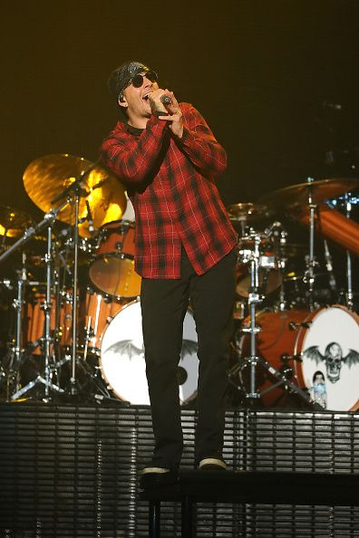 M Shadows of Avenged Sevenfold opens for Metallica at US Bank Stadium on August 20 2016 in Minneapolis Minnesota