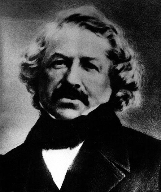 Louis Daguerre is seen in this daguerrotype portrait from about 1850  Picture: INTERFOTO / Alamy