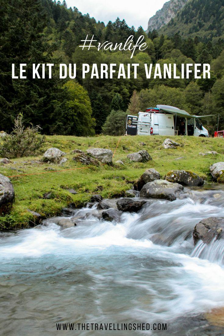 Le kit du parfait vanlifer ! #vanlife #van #campervan #travel