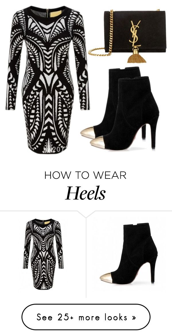 """Beautifulhalo #3"" by evalentina92 on Polyvore featuring Yves Saint Laurent and bhalo"