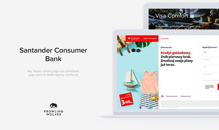 Santander Project. on Behance