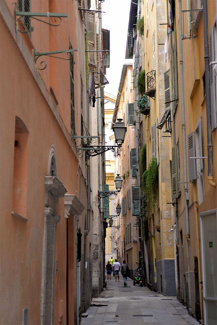 rues du vieux Nice
