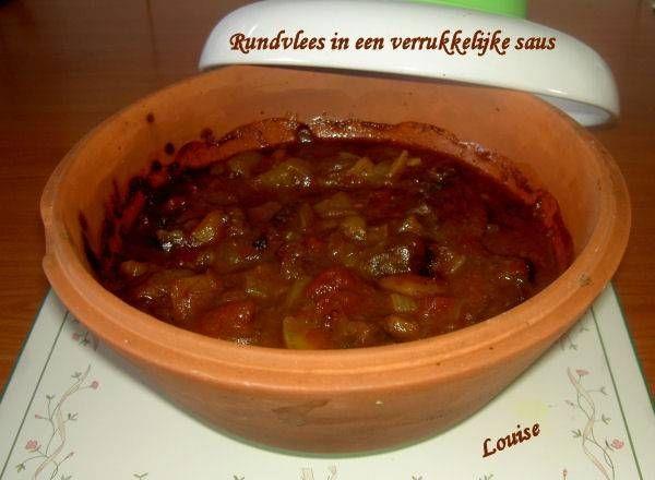 Rundvlees In Een Verrukkelijke Saus ( Slowcook) recept | Smulweb.nl