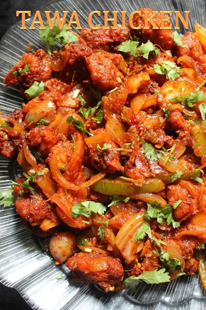 YUMMY TUMMY: Easy Tawa Chicken Recipe / Spicy Tava Chicken Fry Recipe