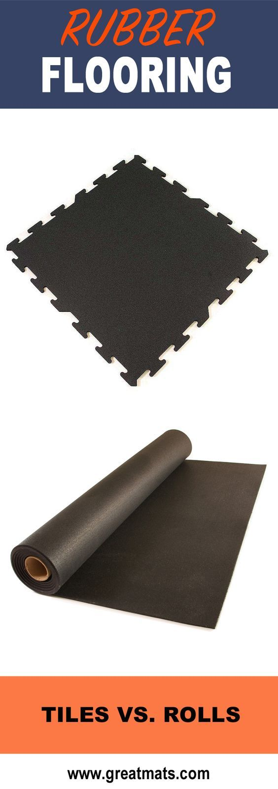 Rubber floor mats denver - Rubber Flooring Rolls Vs Rubber Floor Tiles
