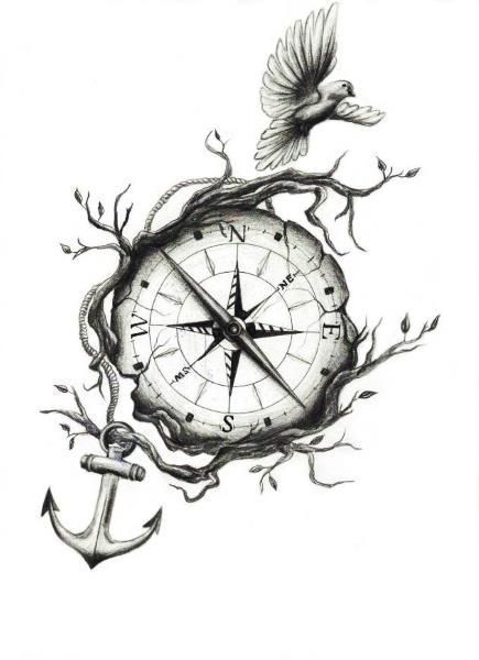 Tattoo Ideas Compass # Ideas #compass #tattoo #tattooIdeas #flowertattoos #Tattoos   – diy tattoo images