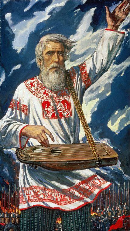 Glory to Forefathers! Ilya Glazunov Art