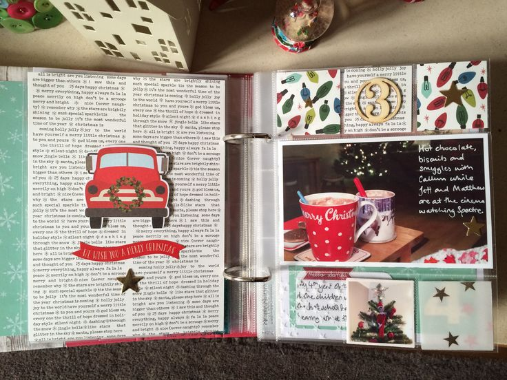 Part 2 of Document December. Sharing the first few days of my December Daily album using Simple Stories 'Claus & Co', Shimelle 'Christmas Magic' and more.