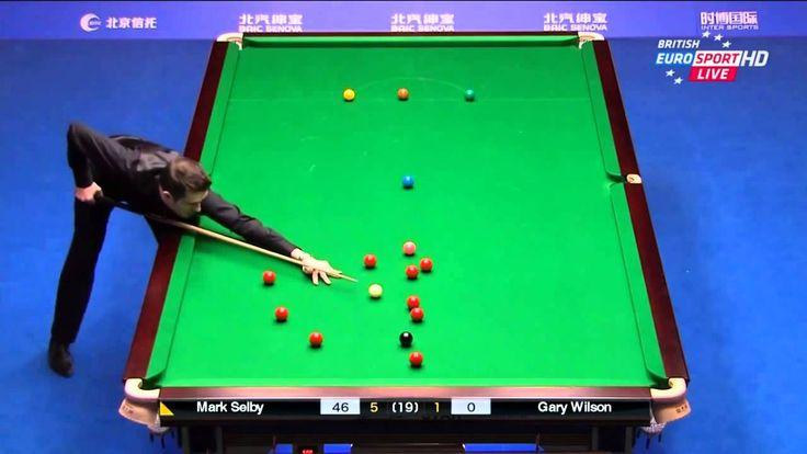 HD   Mark Selby 145 Break   FINAL   2015 China Open Snooker