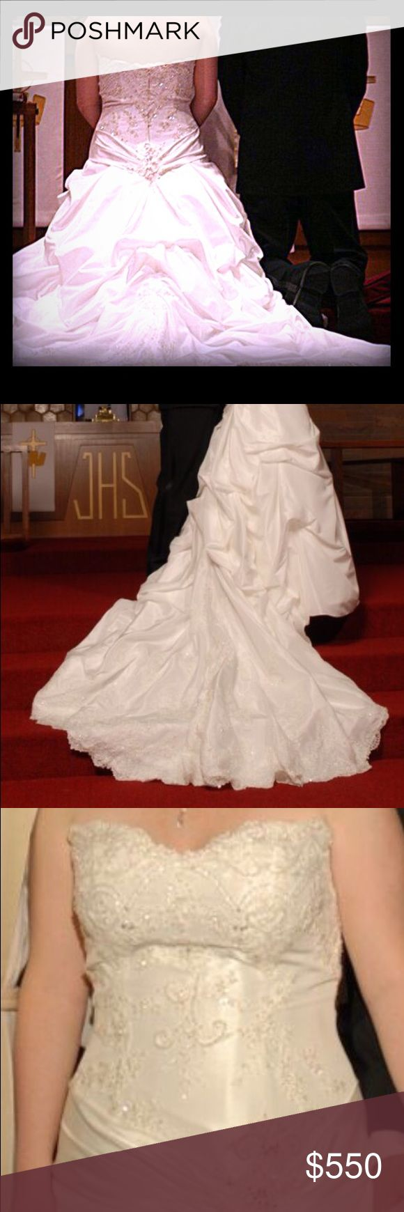 Casablanca Bridal Wedding Gown Size 12