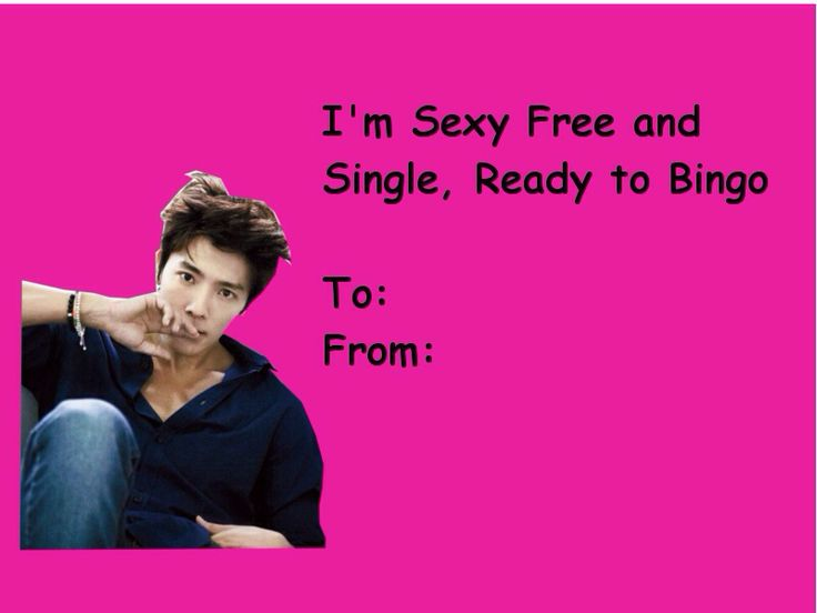 15 best Kpop valentine cards images on Pinterest  Jokes