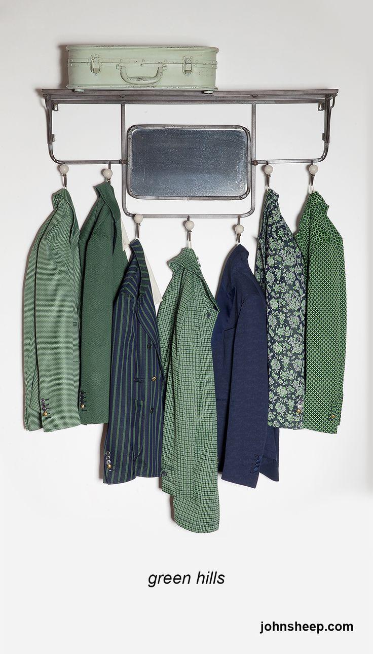 John Sheep - green hills #SS14collections #green #JohnSheep #jacket #mensstyle
