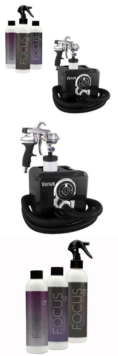 Airbrush Tanning Kits: Venus Ultra Spray Tanning Machine Kit With Focus Airbrush Tanning Solution -> BUY IT NOW ONLY: $299 on eBay!
