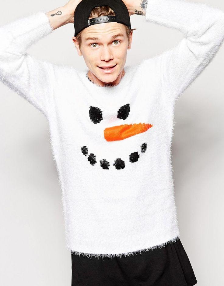 Shop 5 imagem insolentes ASOS Camisolas Natal ASOS Sweater Snowman Natal 800x1020