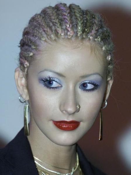 I actually liked her hair braided