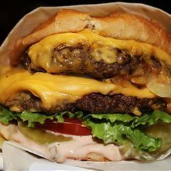BBQ Ranch Bacon Cheeseburgers photo by hungryallweighs - Allrecipes.com - 782564