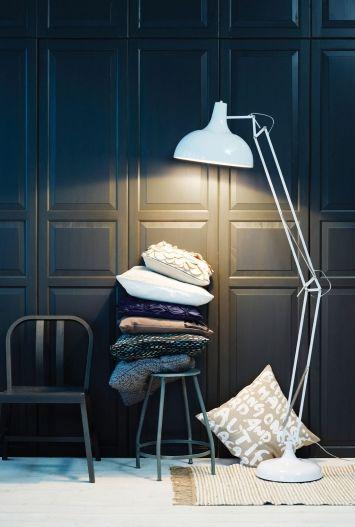 looks like ikea pax wardrobe doors - Krakvis & D'Orazio (via Australian Design Blog nestpearls.blogspot.com.au)